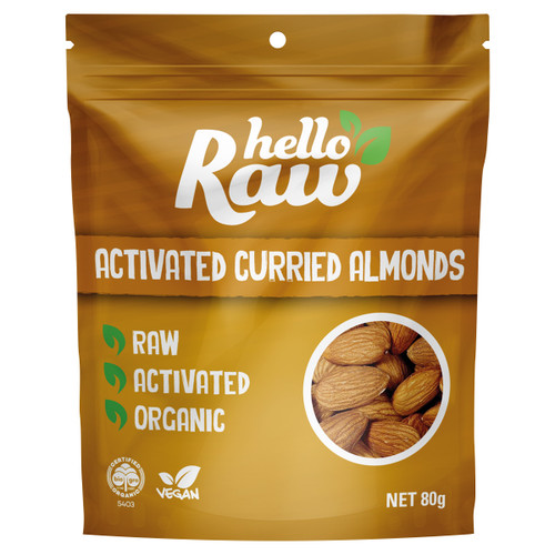 Activated Curried Almonds