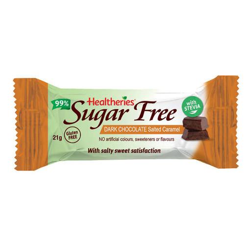 Sugar Free Dark Chocolate Salted Caramel