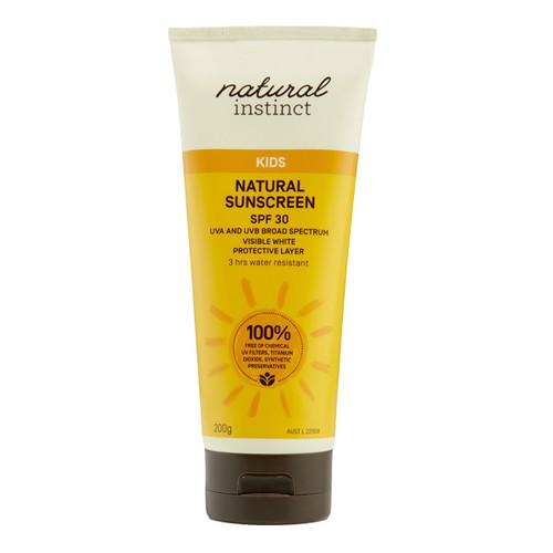 Kids Natural Sunscreen SPF 30