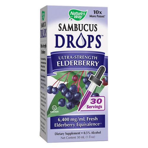 Sambucus Drops Ultra-Strength Elderberry 6400mg