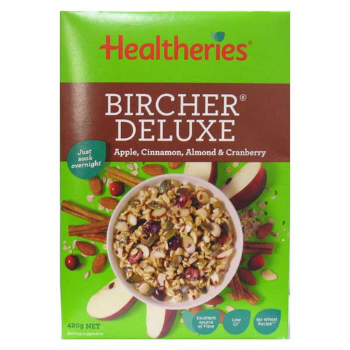 Deluxe Bircher Muesli Apple, Cinnamon & Almond