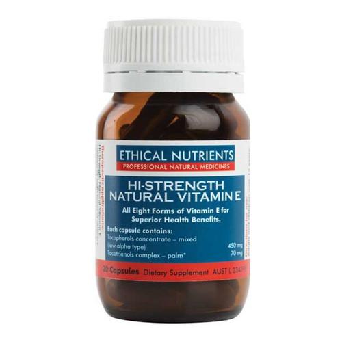 Hi-Strength Natural Vitamin E