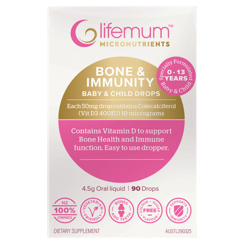 Bone & Immunity for Baby & Child Drops