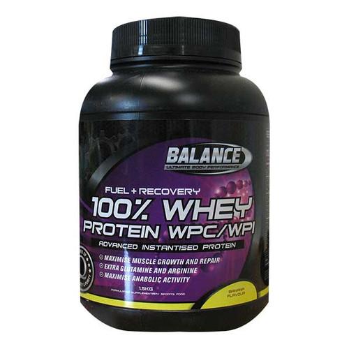 100% Whey Protein Banana