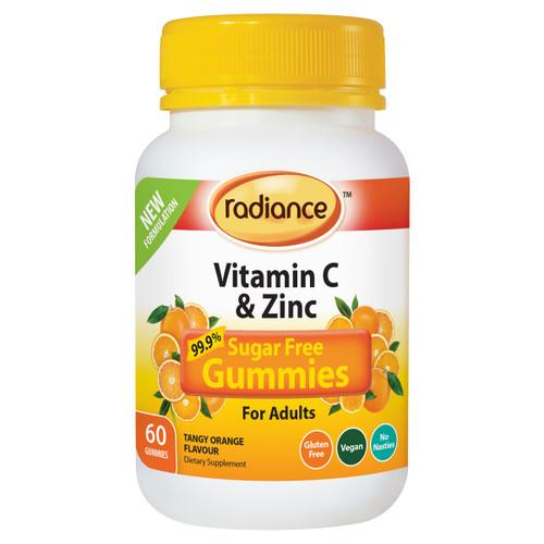 Sugar Free Vitamin C & Zinc Gummies For Adults