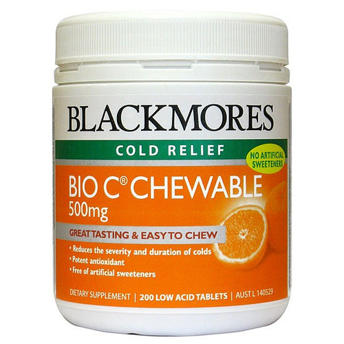 Bio C Chewable 500mg