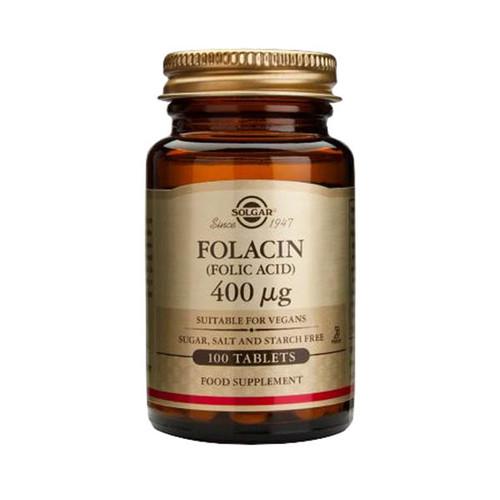 Folacin (Folic Acid) 400µg