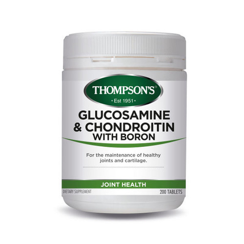 Glucosamine & Chondroitin with Boron
