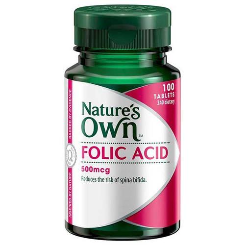 Folic Acid 500mcg