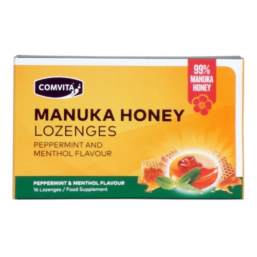 99% Manuka Honey Lozenges - Peppermint & Menthol