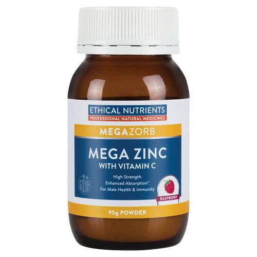 MegaZorb Mega Zinc with Vitamin C
