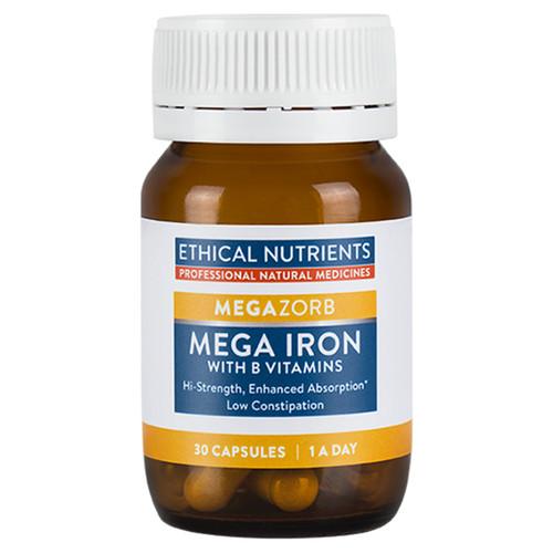 MegaZorb Mega Iron with B Vitamins