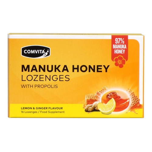 97% Manuka Honey Lozenges - Lemon & Ginger