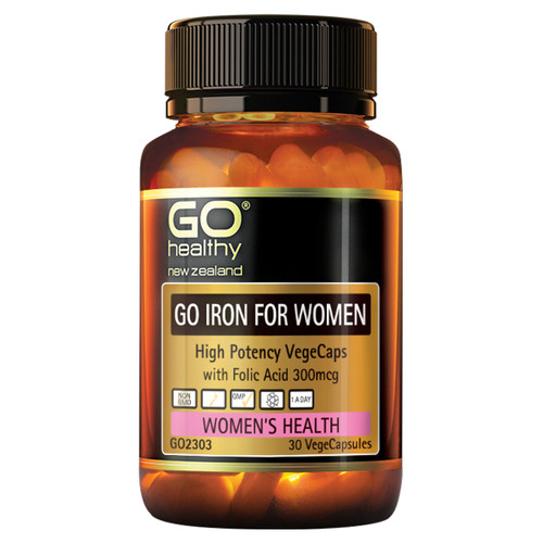 Go Iron for Women - High Potency