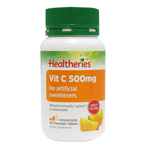Vitamin C 500mg - Orange