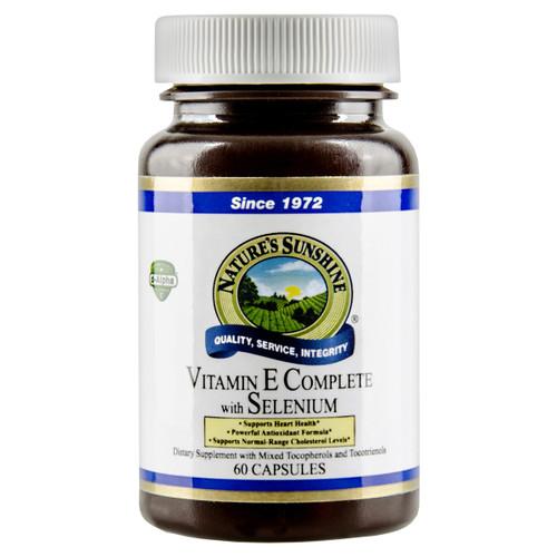 Vitamin E Complete with Selenium