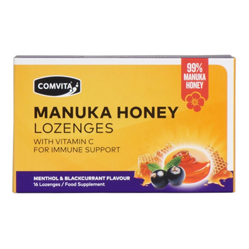 99% Manuka Honey Lozenges - Menthol & Blackcurrant