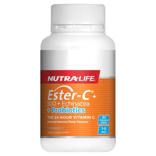 Ester-C + 500 + Echinacea + Probiotics