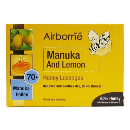 Manuka & Lemon Lozenges 70+