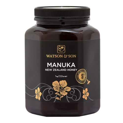 New Zealand Manuka Honey 5+