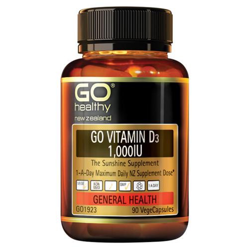 Go Vitamin D3 1,000IU