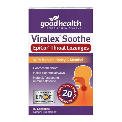 Viralex Soothe EpiCor Throat Lozenge