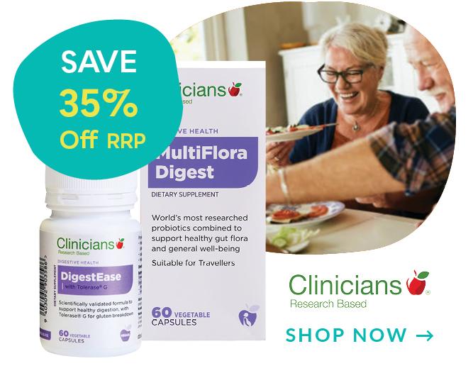 Clinicians Probiotics Discount off RRP
