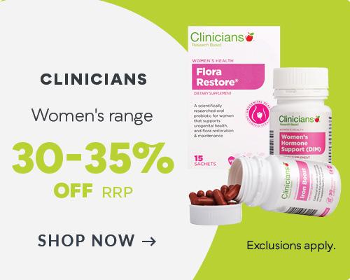 Clinicians Women's Range