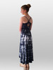 Girls Black bamboo cami maxi