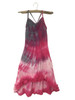 Girls ruffle cami maxi-Pink Poodle