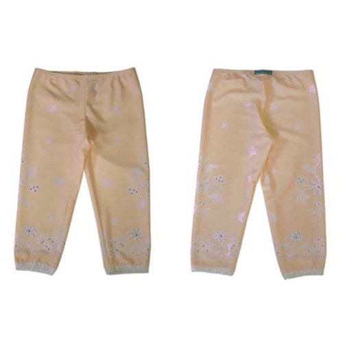 Girls Lace Icing with Sprinkles Leggings - Butter Cream