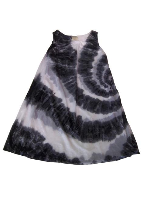 Girls Ink spiral glistennett layer dress