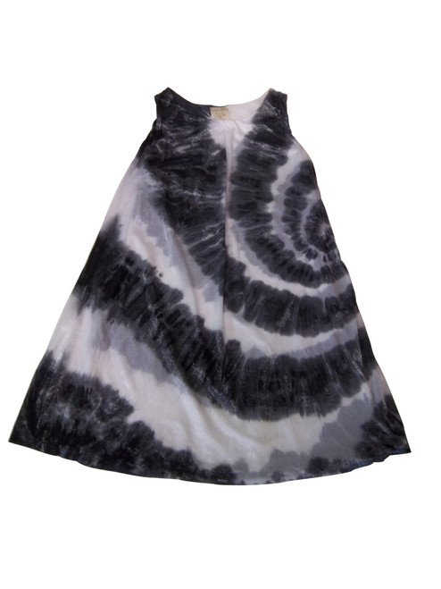 Girls Ink spiral glistennett layer dress