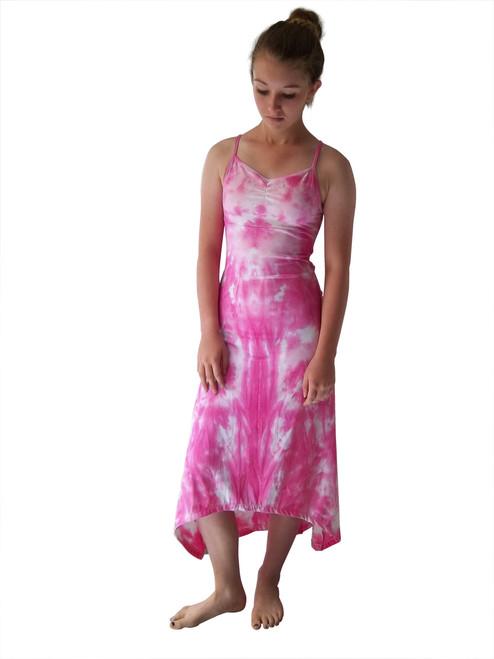 Girls Camilla pink cami maxi