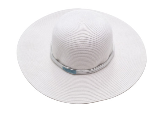Girls Sun Hat-White