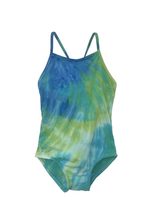 Girls Rib Maillot  one piece -Maui Me Too