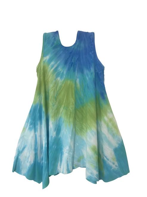 Girls trapeze dress with pockets- Maui Me Too