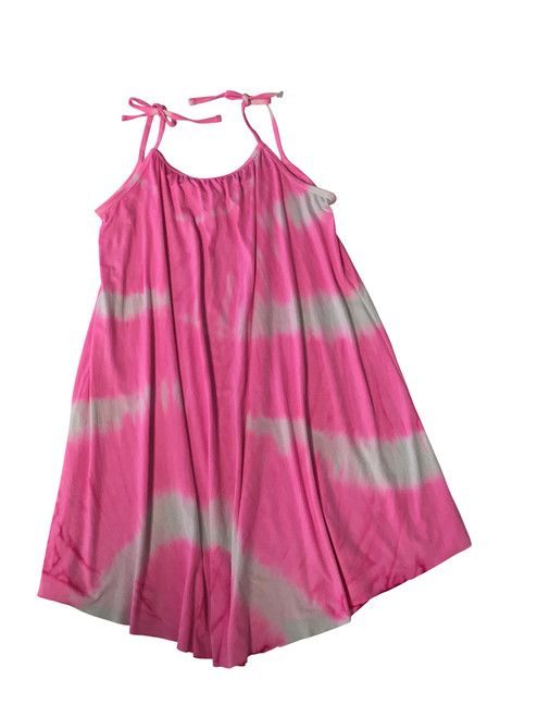 Girls babydoll dress-  Gum Ball Pink
