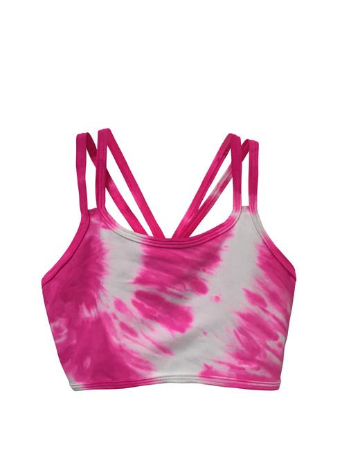 Girls dance top- Gumball pink