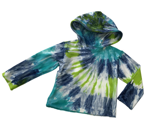 Girls Hoodie Tee- Northern Lights