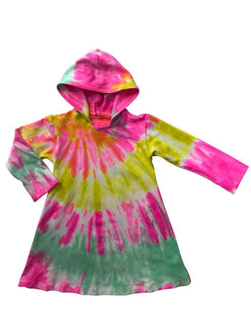 Girls Hoodie Dress- Candi
