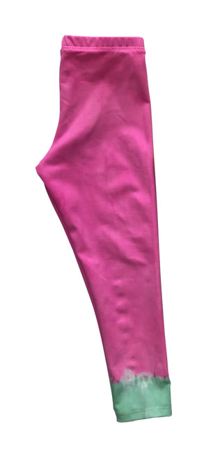 Girls Long Leggings- Candi Dip