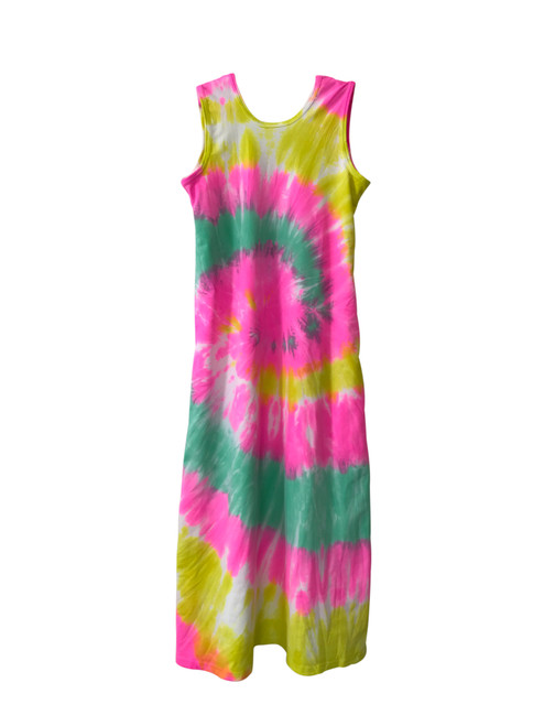 Girls Maillot Maxi- Candie Neon Pink