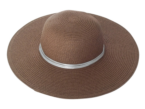 Girls Sun Hat- brown