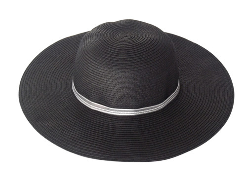 Girls Sun Hat black