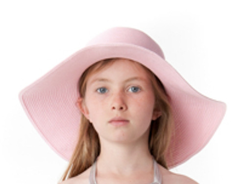 Girls Sun Hat strawberry