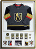 VGK Golden Knights Framed Jersey