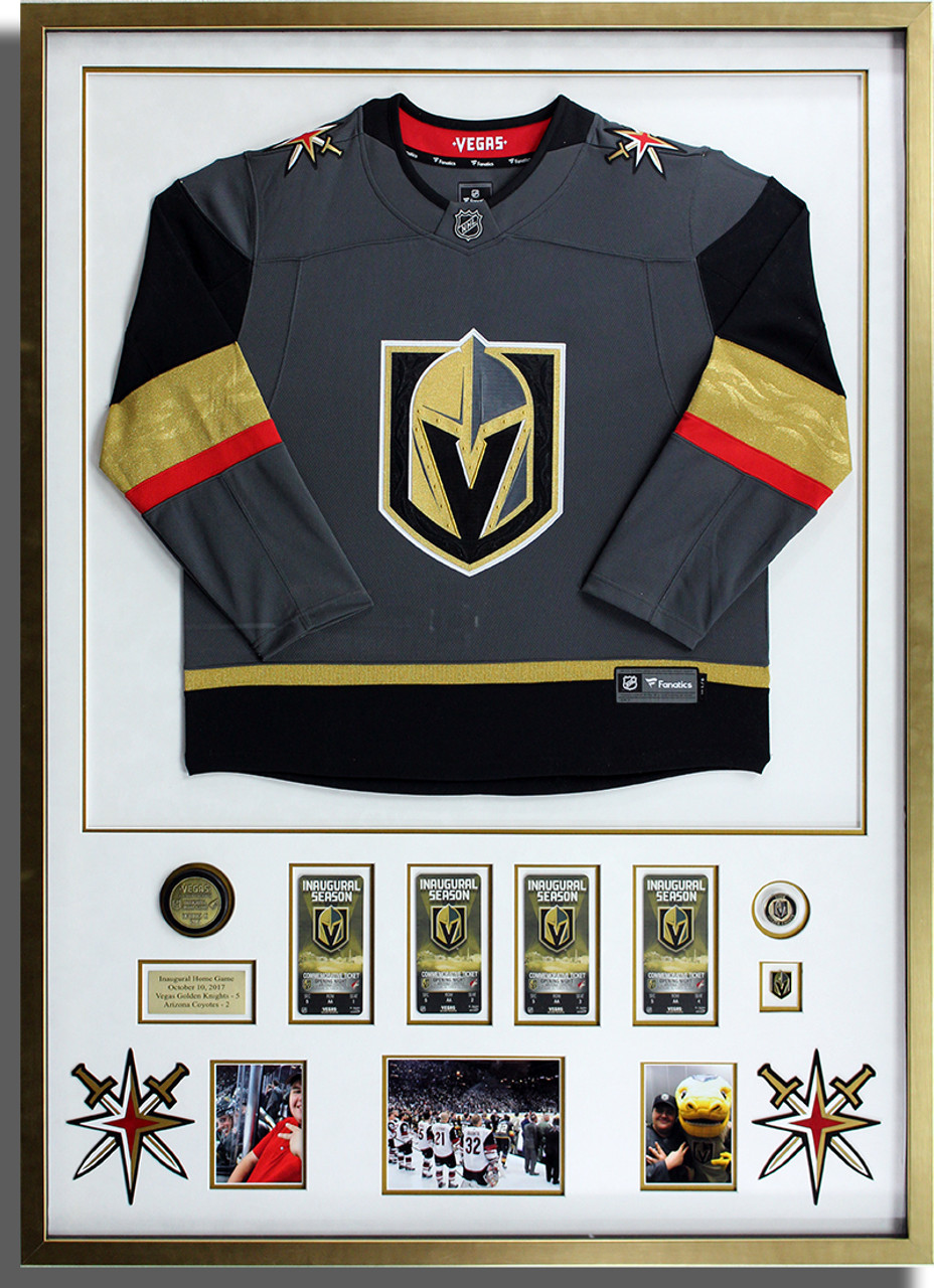 sports shoes 1bb7e 9e193 VGK Golden Knights Framed Jersey - Monster Wholesale Picture ...