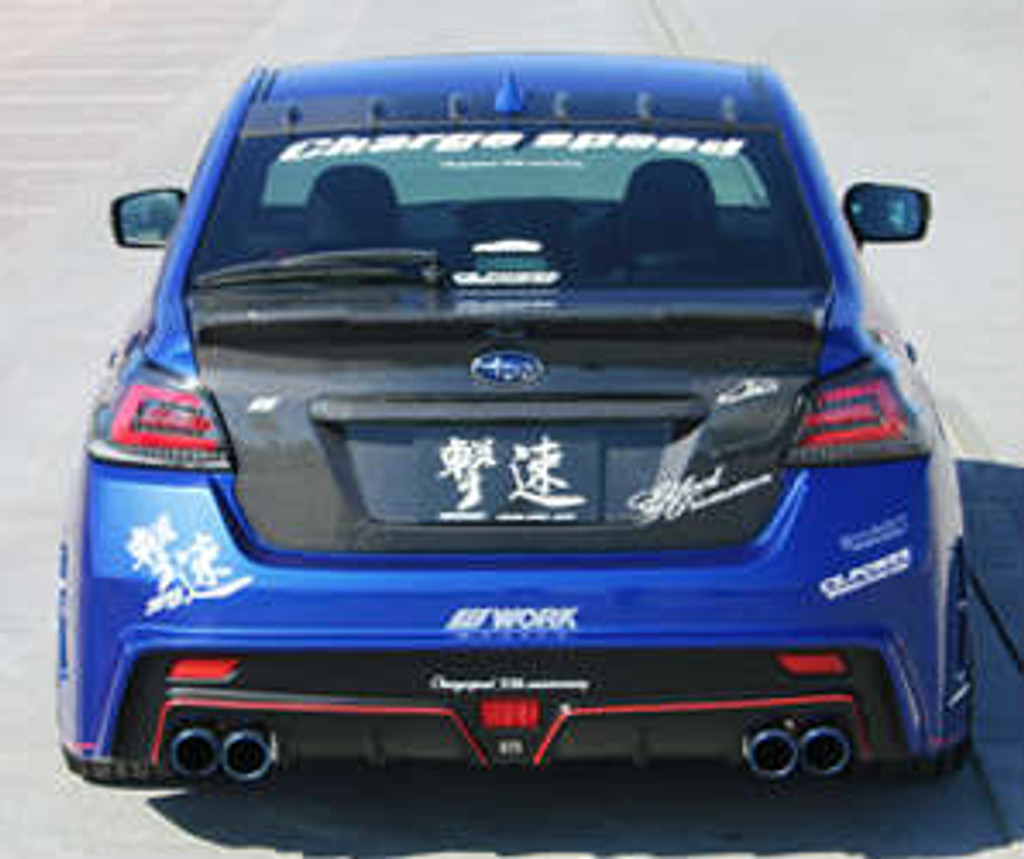 CS9735RB1 - Charge Speed 2015-2020 Subaru WRX/ STi  VA S4 Type-1 Rear Bumper