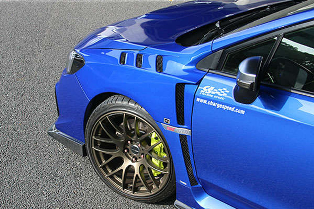 CS9735FF - Charge Speed 2015-2020 Subaru WRX/ STi VA Factory Spec Front Fenders with Vents
